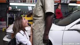 BANGBROS - Mechanic Has Biggest Dick Jade Jantzen Has Ever Seen