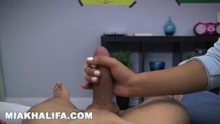 Lessons blowjob arab khalifa pornstar mia taboo gives mia boobs