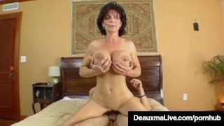 Texas Cougar Deauxma Gets Nice Hard Juicy Wet Ass Pounding! Bigtits mom