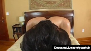 Texas Cougar Deauxma Gets Nice Hard Juicy Wet Ass Pounding! porno
