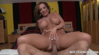 MILFGonzo Big booty milf Richelle Ryan gets fucked hard