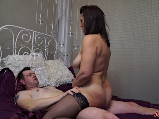 Get to Know a Thick 47 Year Old MILF Raven Before She Gets Fucked