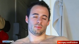 Don't play with my big cock, i'm not into guys. Sebastien french guy Friendly cock