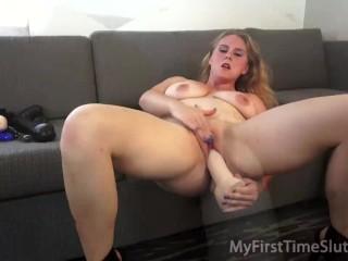 Sasha monet nude blonde milf stretching her pussy mom mother masturbate milf blowjob rea