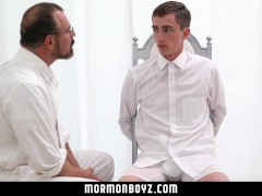 MormonBoyz-Straight Boy Tricked Into Getting an Erection by Older Man
