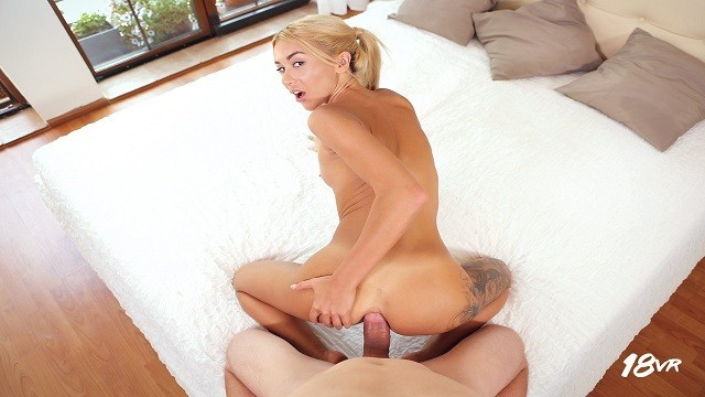 18VR.com Giving Katrin Tequila Hard Anal Fuck In POV