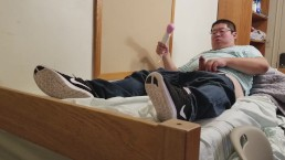Dorm Room Hitachi Orgasm