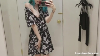 Dressing Room Slut Big fake