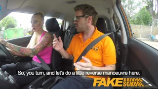 Fucks pass test to driving her instructor her big babe tits fake school uk cumshot