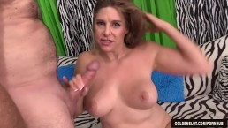 Very sexy mature woman Jade B shows pussy and takes dick