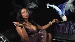 Indian MILF With Huge TIts Smokes Cig While Taking Huge Cock