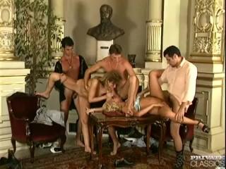 DP Orgy with Eva Bond and Nicolette