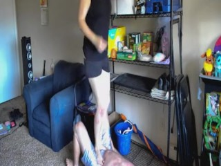 TSM - Lola's ballbusting trample and jumping
