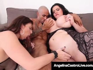 Cuban BBW Angelina Castro King Noir Make Sara Jay Submit