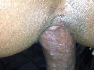 Pussy Eating up BBC from backshots