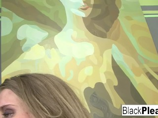 Flexible Megan Reece drains all the cum from a BBC