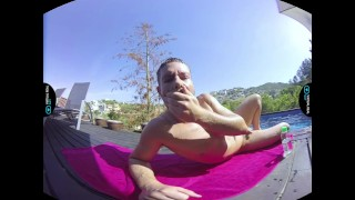 Wet wet wet virtualrealgaycom solo backyard