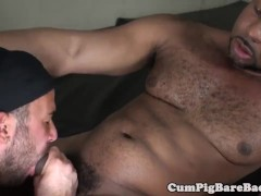 Black wolf doggystyle drilling twinks ass
