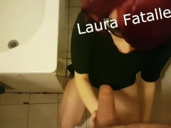 Mom And Son Pissing Toilet Games( Don't Tell Daddy)-Laura Fatalle