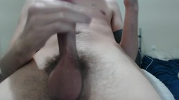 Cumshot close-up and wonderfully personal
