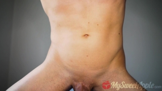 Step Sister catches Brother masturbating and fucks him