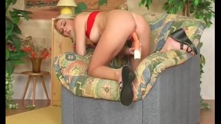 Big and teen horny blonde masturbating with pussy boobs wet touching masturbation teen