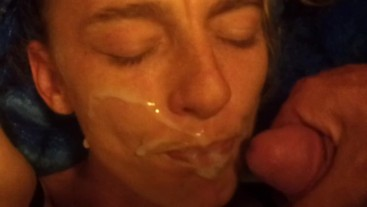 Amature facial