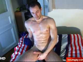 Sebatien: Straight male in a porn in spite of him
