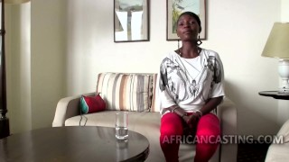 African cutie craving for big dick Fake mother