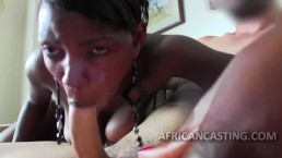 African cutie craving for big dick