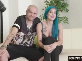 Hot wife Alexxa Vice taking big cock