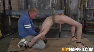 Tristan Crown enjoys being molested by Sebastian Kane