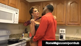 White plowed bbc chick gets by rome richelle hot ryan major big big