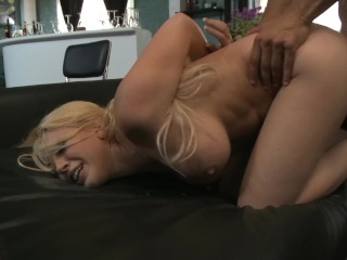 Amateur couple fucked porn video petite blonde wife kagney lynn carter, takes huge cock during sex toy p