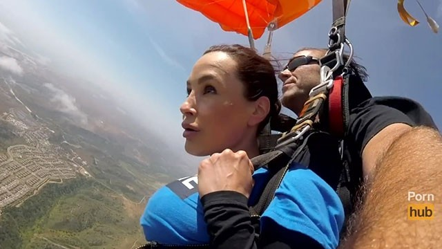 Nude skydiving roberta mancino - The news sex - skydiving with lisa ann pt 2