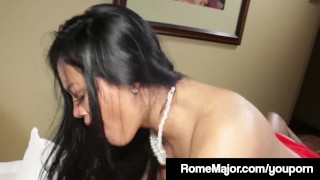 BBC Rome Major Pounds Maxine X's Asshole Until She Squirts! Boobs natural
