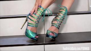 Zoe Clark Foot Fetish Lotion Toes