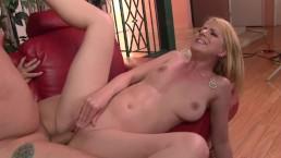 Blonde Chix Sucks and Fucks Big Dicked Boyfriend