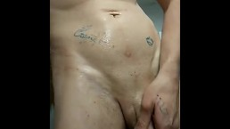 Pissing and Playing With My Hard Cock