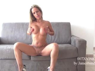 007XVISION CASTING: Helena Kramer loves big cock