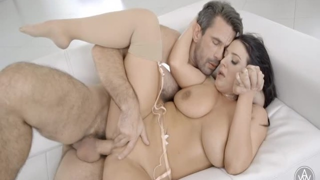 Angela White and Manuel Ferrara Passionate Intimate Creampie