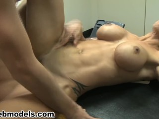 Big tits milf cougar boss fucked by employee