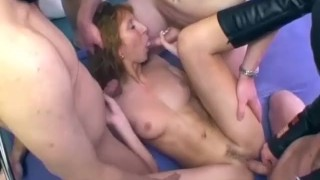 milf cop hump a milf is stockings gets deep anal orgy outside in public with german chick