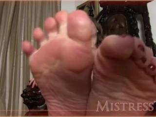CBT by mistress T (enjoy the pain)