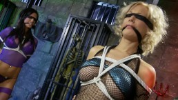 TEENS LOULOU AND CHARLIE MONACO ARE TIED UP AND PUNISHED