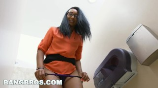 BANGBROS - How to sexually annoy your secretary (Arianna Knight) properly  boss office brown bunnies arianna knight bbc14885 brownbunnies bang bros bangbros ebony work black job