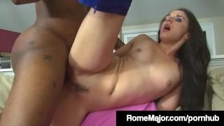 Rome Major Gives Sheena Ryder A Black Cock up her Asshole!