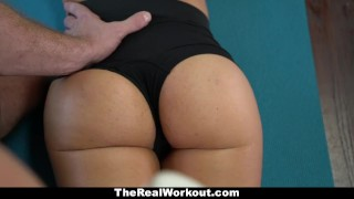 Teamskeet gets sexy with workout thick dick guru cumshot bigcock