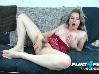 Handjob maya masterbates and fucks