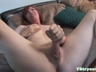 Well Hung Photos And Video Chubby Ts Amateur Wanks During Casting, Amateur Big Ass Masturbation Small Tits